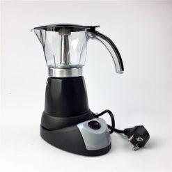 cafetière italienne électrique noire