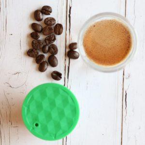 capsule et café en grain