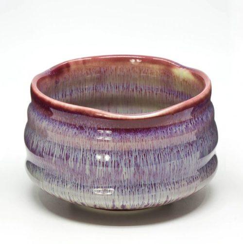chawan japonais violet