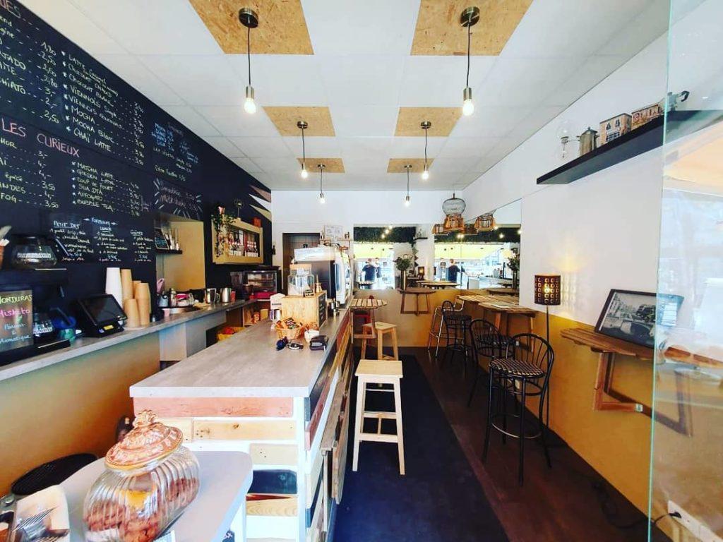 Curieux Coffee Shop Nantes