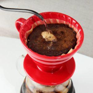 utilisation du dripper café
