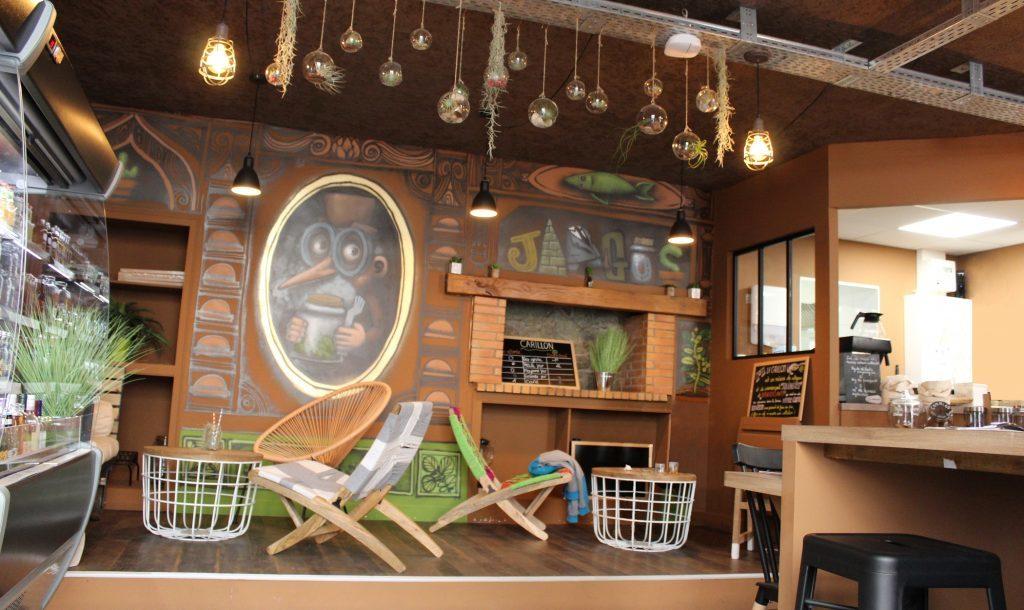 décoration du coffee shop nantes Jargus