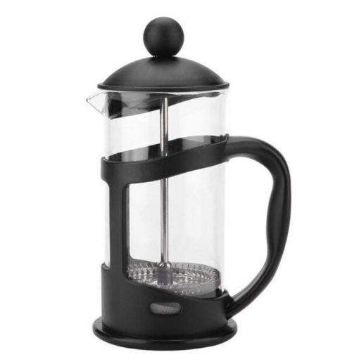 cafetière à piston en verre