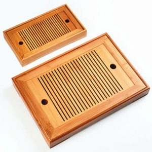 Deux plateaux gong fu cha