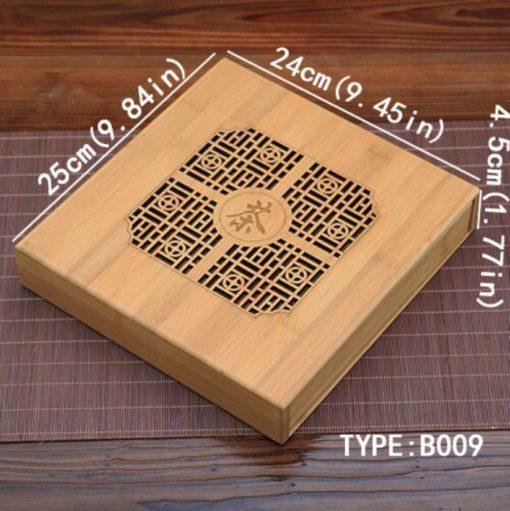 dimensions plateau à pu erh 2