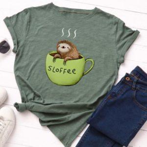 T-shirt café
