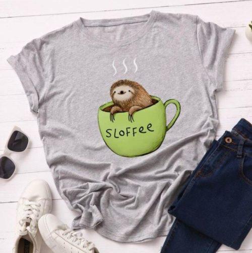 """T-shirt Café Femme """"Sloffee"""""""