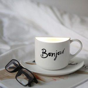 Lampe décorative tasse de café