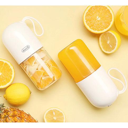Blender Portable Mixeur pour Smoothie et Jus de Fruits