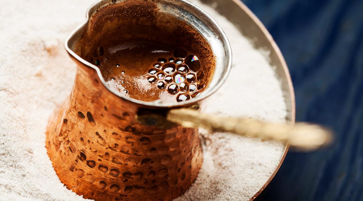 café turc, histoire recette