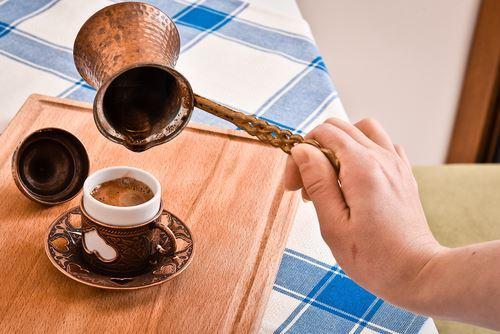 café turc salé