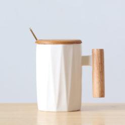 tasse design blanche