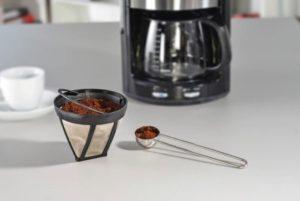 filtre écologique avec mouture de café