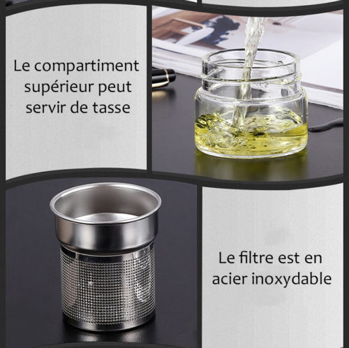 Bouteille infuseur