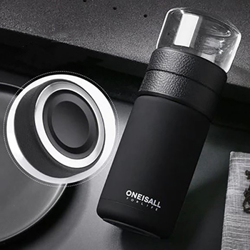 thermos infuseur noir