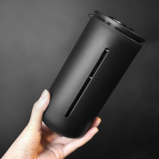 cafetière à piston noire