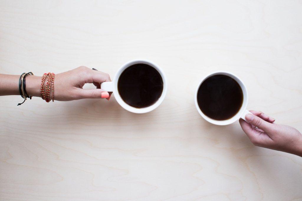 deux tasses de café