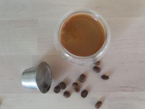 café pour capsule rechargeable