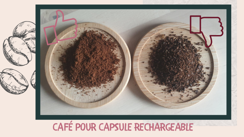 Quel café pour capsule rechargeable ?