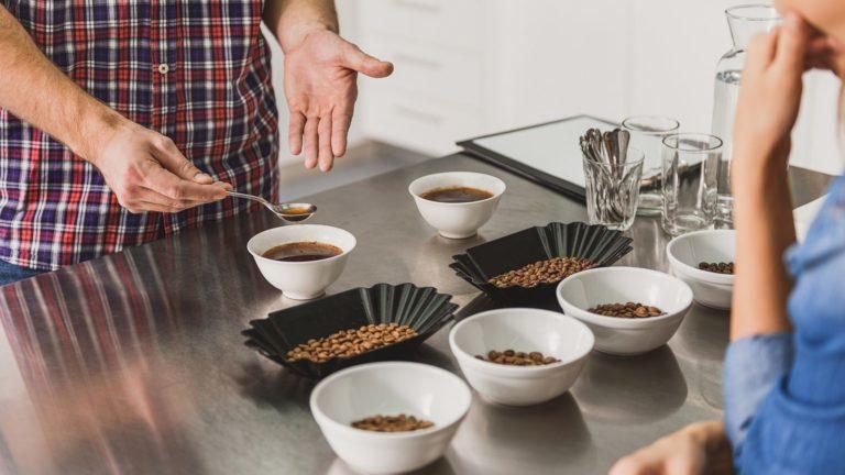 Cupping café, ou la dégustation du café
