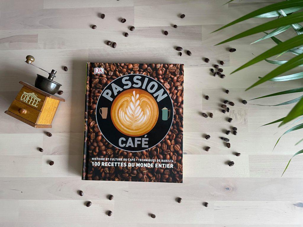 Livre café Passion café, mon premier livre sur le sujet